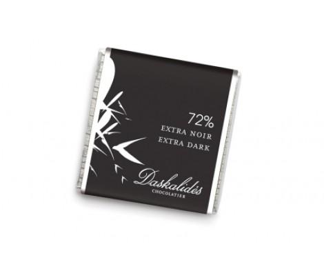 שוקולד מריר 72%.