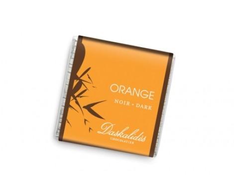 שוקולד מריר עם שבבי תפוז